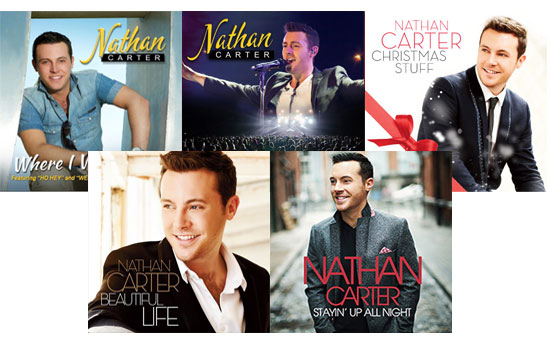 Nathan Carter CD Bundle #2