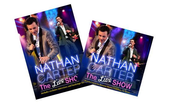 Nathan Carter The Live Show CD & DVD Bundle